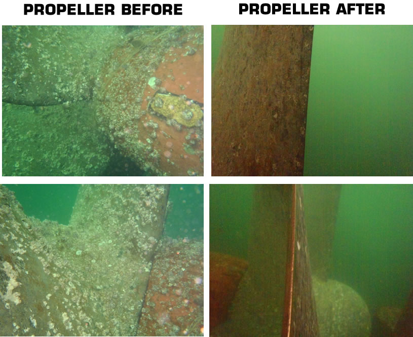 image Propeller before and after